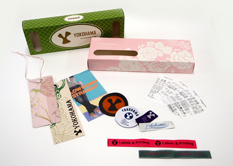 Merchandise from Hong Kong(labeling-related products)